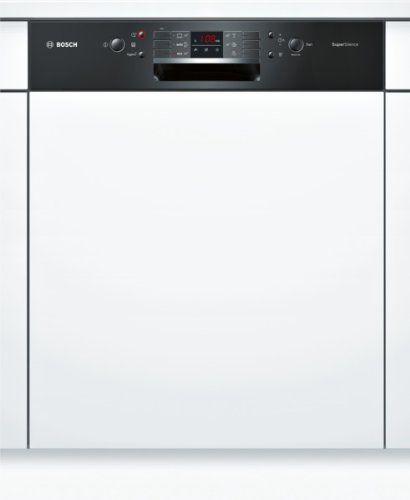 Bosch SMI53M46EU lave-vaisselle – laves-vaisselles (Entièrement intégré, A, A++, Noir, Blanc, boutons, LED): Bosch SMI53M46EU. Type:…
