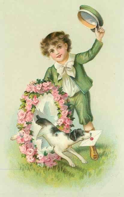 Открытки с днем рождения мальчик с цветами
