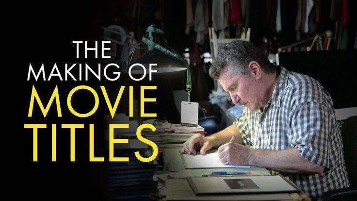 """Art Direction Inspo: Dan Perri explains how he designed movie titles for films such as """"Star Wars"""" """"The Exorcist"""" and """"Raging Bull."""" http://ift.tt/2aoePKm http://ift.tt/2aH1NoB"""