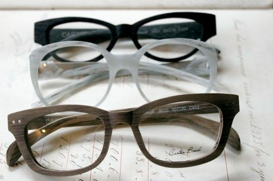 Carter Bond frames designed by Jono Hennessy