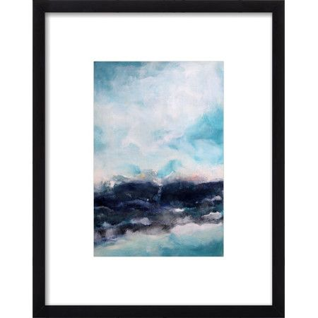 Complete your gallery wall or entryway display in artful style with this eye-catching framed print, featuring an abstract design.Prod...