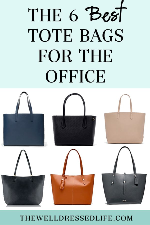 Wear To Work The 6 Best Tote Bags For Office Well