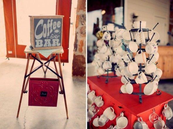 Coffee Bar At Wedding: Anthropology Inspiration, Vintage Wedding Photography, Vintage Weddings, Parties Ideas, Coffee Bars, Decor Coff, Hot Chocolates, Coff Bar At Wedding, Rustic Wedding