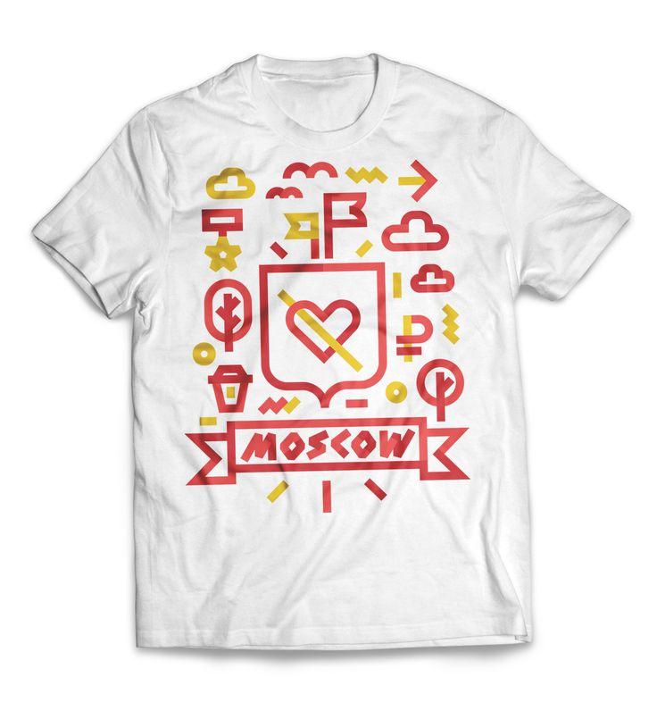 МаркиМаус производит футболки с уникальной графикой на тему жизни в городе