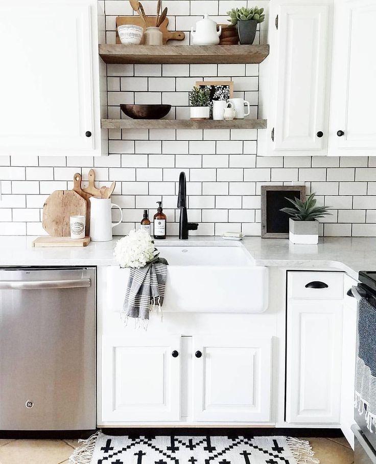 443 best LIVING \/\/ KITCHEN images on Pinterest Funky kitchen - küchenwände neu gestalten