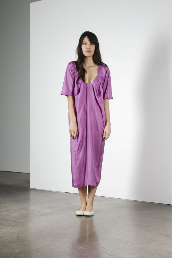Origami dress - lilac