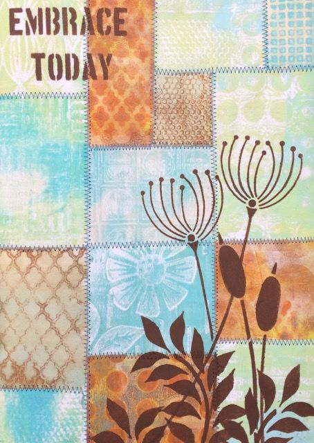PaperArtsy: 2016 #13 Journal Cover {by Lin Brown}