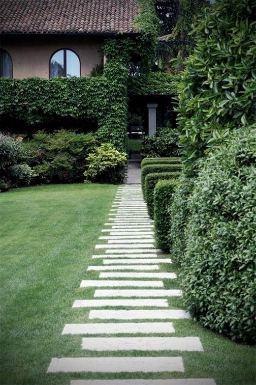 Aujourd\'hui on demande les experts comment faire une allée de jardin ...