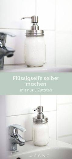 Nachhaltigkeit im Badezimmer – Flüssigseife selber machen – '°º•❤•.¸✿ℛιƙαℛσʂҽ✿¸.•❤•º°'