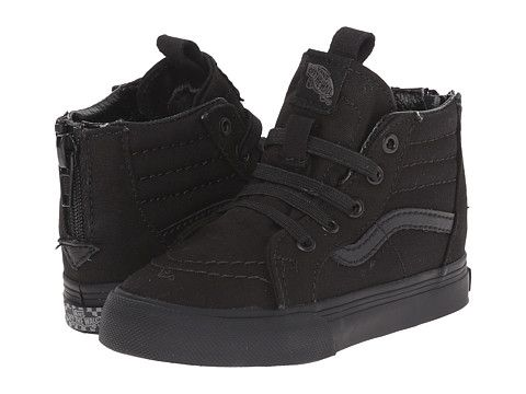 Vans Kids Sk8-Hi Zip Canvas (Toddler)