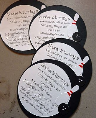 Bowling Invites - Nifty Fifties Cartridge [2000586] - Cricut Forums