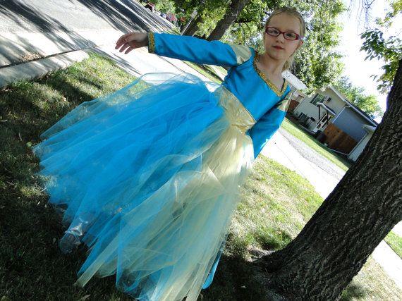 Brave's Merida Tutu Dress on Etsy, $95.00