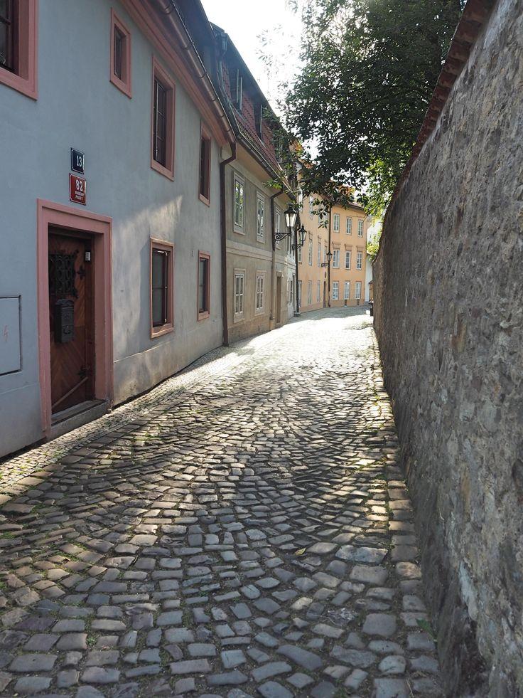 Discover quiet and romantic quarter New World in Prague, Czech Republic