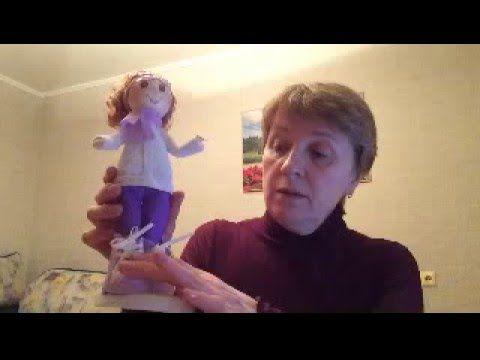 Мастер класс. Кукла из фоамирана