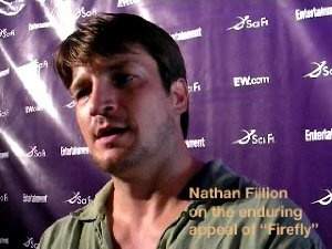 "Nathan Fillion on the enduring appeal of ""Firefly."""