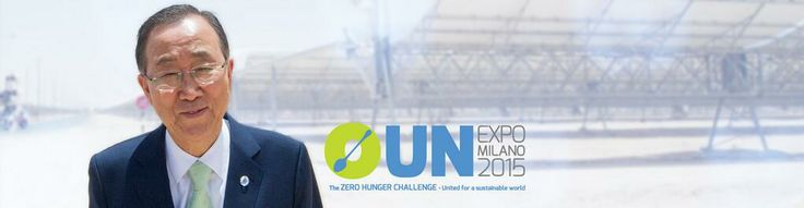 The UN is United for a Sustainable World with ZERO HUNGER!!