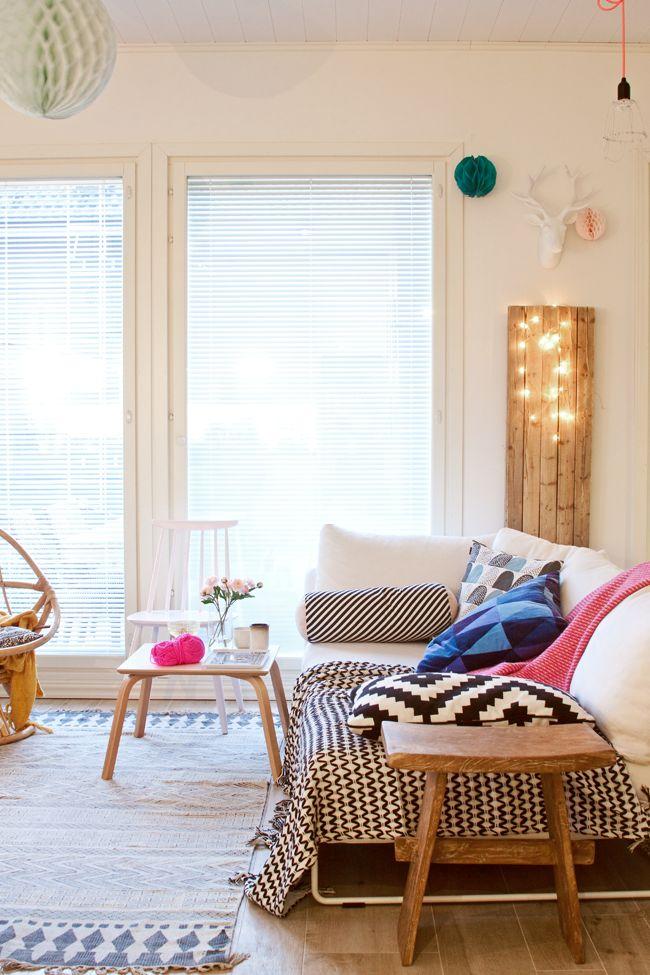 Chouettes idées de #decoration lumineuse pour les fêtes à faire vous-mêmes ! #DIY - via x4duros.com