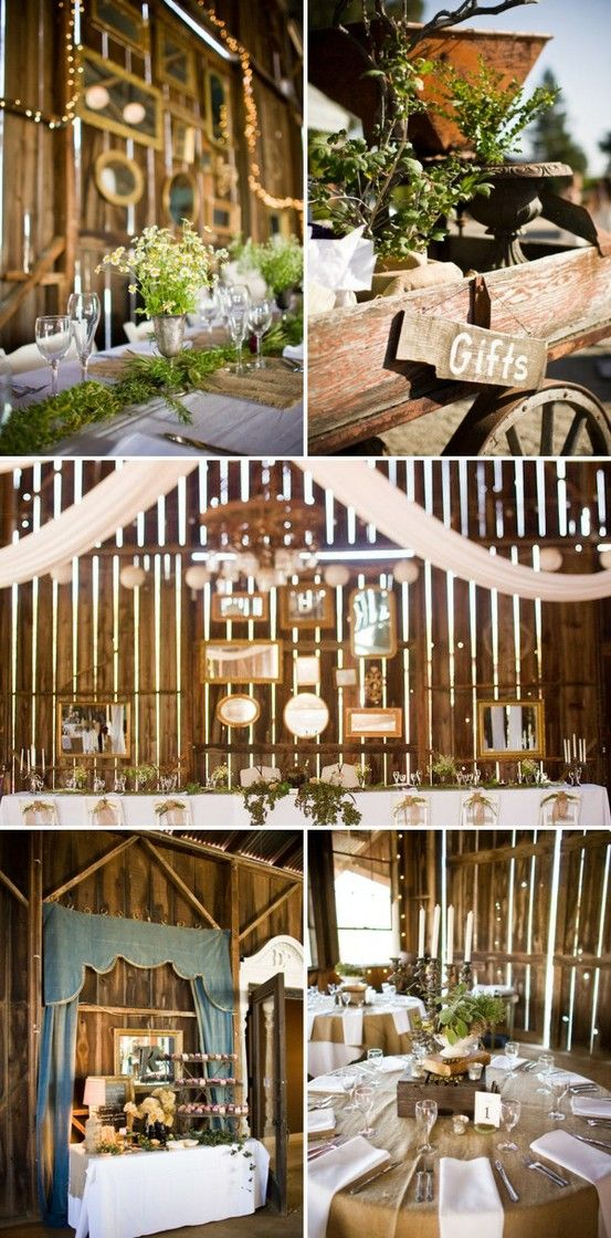 Lavender and Ash: Barn Wedding Decor