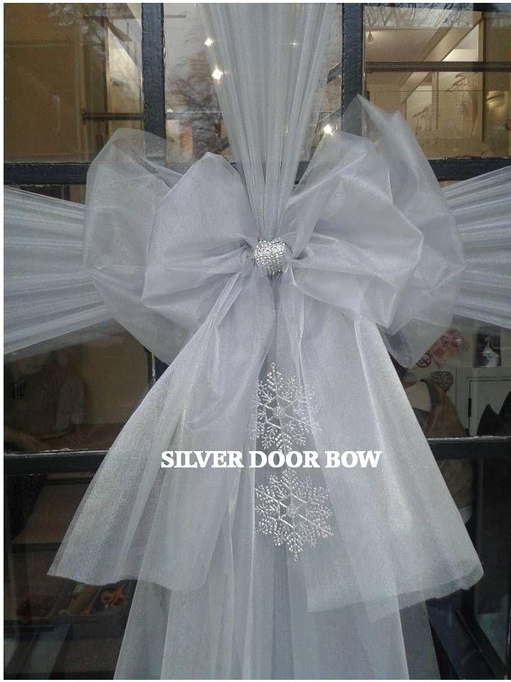 Christmas Door Doors Slab Doors Puertas Gate & 8 best Christmas Door Bows images on Pinterest | Christmas door ...