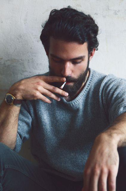 #man #smoking