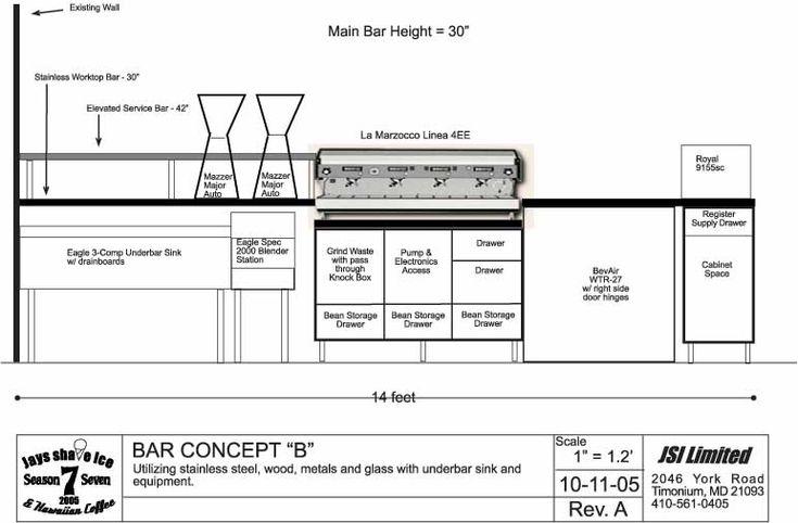 Image Result For Commercial Bar Layout Plans Commercial Bar