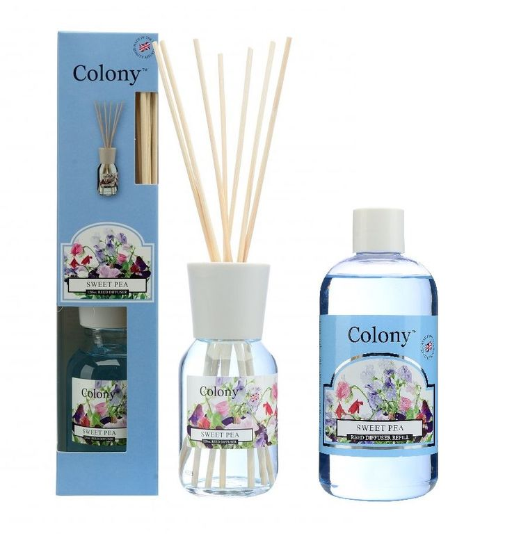 Wax Lyrical Colony sweet pea reed diffusers