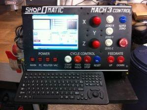 Ed's Junk  Homemade Dedicated MACH 3 CNC Control Panel