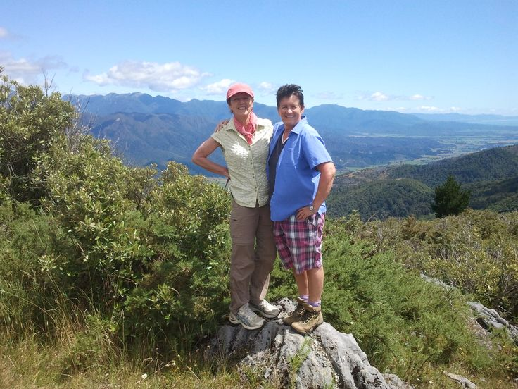 Takaka Hill above Abel Tasman National Park. Hiking doesn't get much better than this! Join us January 2017 in the gorgeous Abel Tasman National Park, New Zealand.
