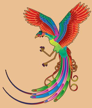 phoenix the solitary bird of paradise Nothing dies in paradise, and here was the crux of the bird's dilemma after a thousand years had passed, the phoenix had become oppressed by the burden of its age the time had come for it.