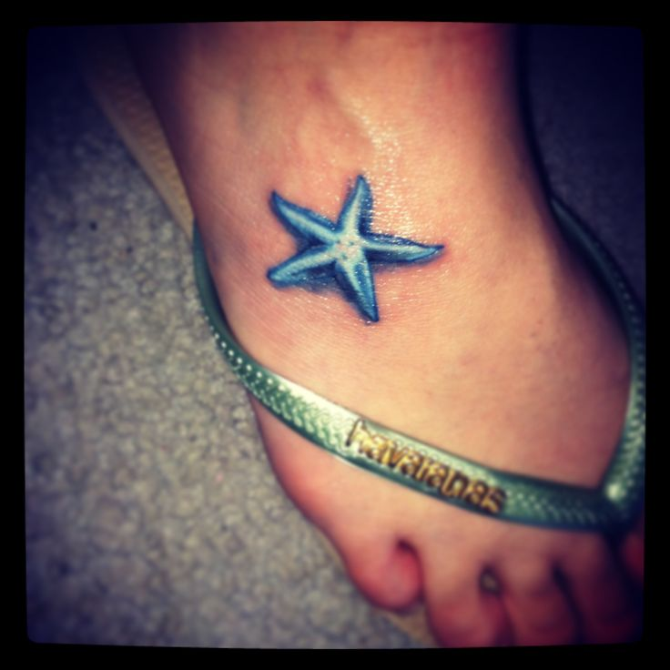 my new starfish tattoo d lovely pinterest awesome tattoos awesome and tattoos on foot. Black Bedroom Furniture Sets. Home Design Ideas