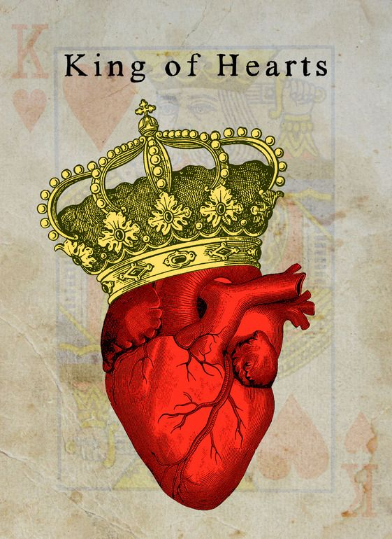 "Saatchi Online Artist: Henri Banks; Photograph, 2012, Mixed Media ""King of Hearts"""