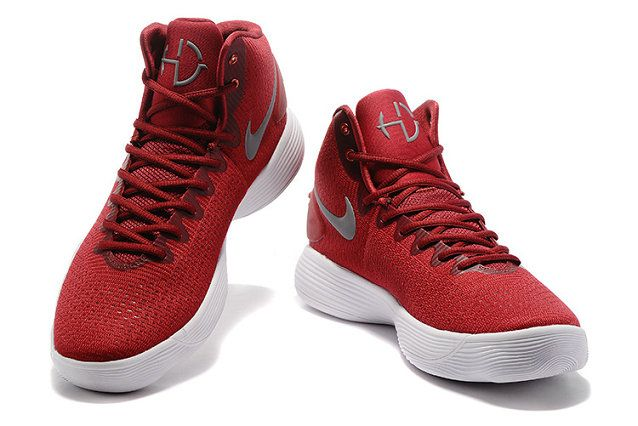 reputable site 81ce2 c7540 Free Shipping Only 69  Nike Hyperdunk 2017 High Basketball Shoes Wine Red