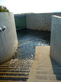 The Benesse House Hotel, Naoshima Island Art complex, Japan designed by Tadao Ando Architects :: Oval