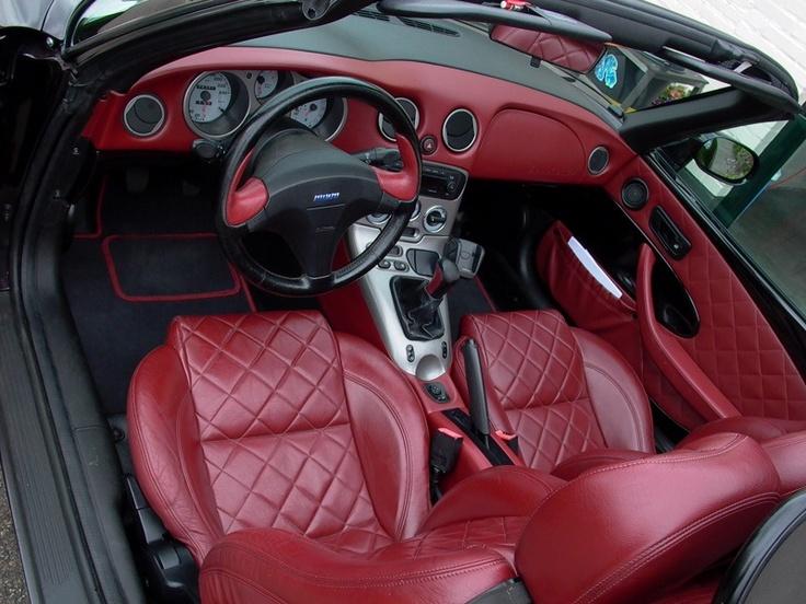 Interior of Fiat barchetta limited edition '99