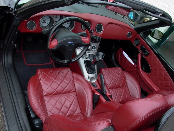 Interior of Fiat barchetta limited edition '99