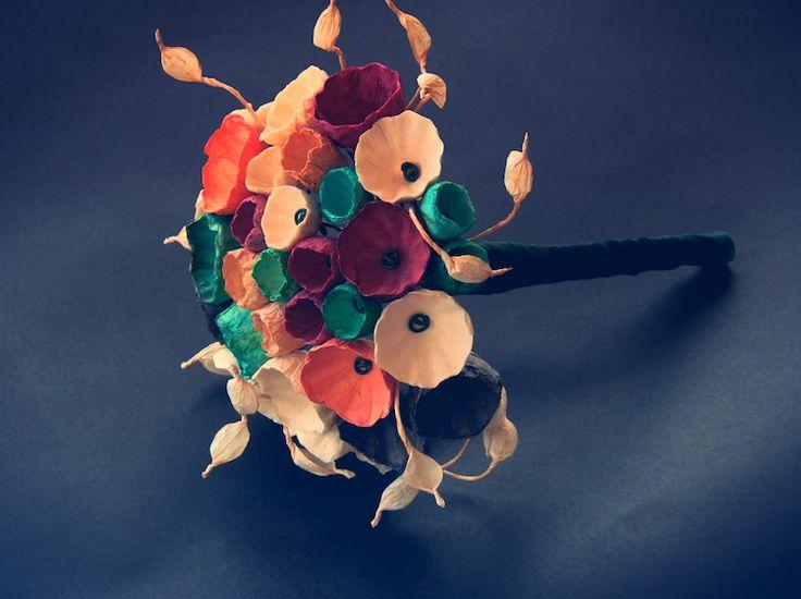17 migliori idee su bouquet di fiori di carta su pinterest for Progetti di edilizia eco friendly