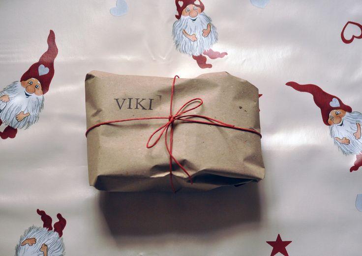 Karácsonyi csomagolás - Christmas package