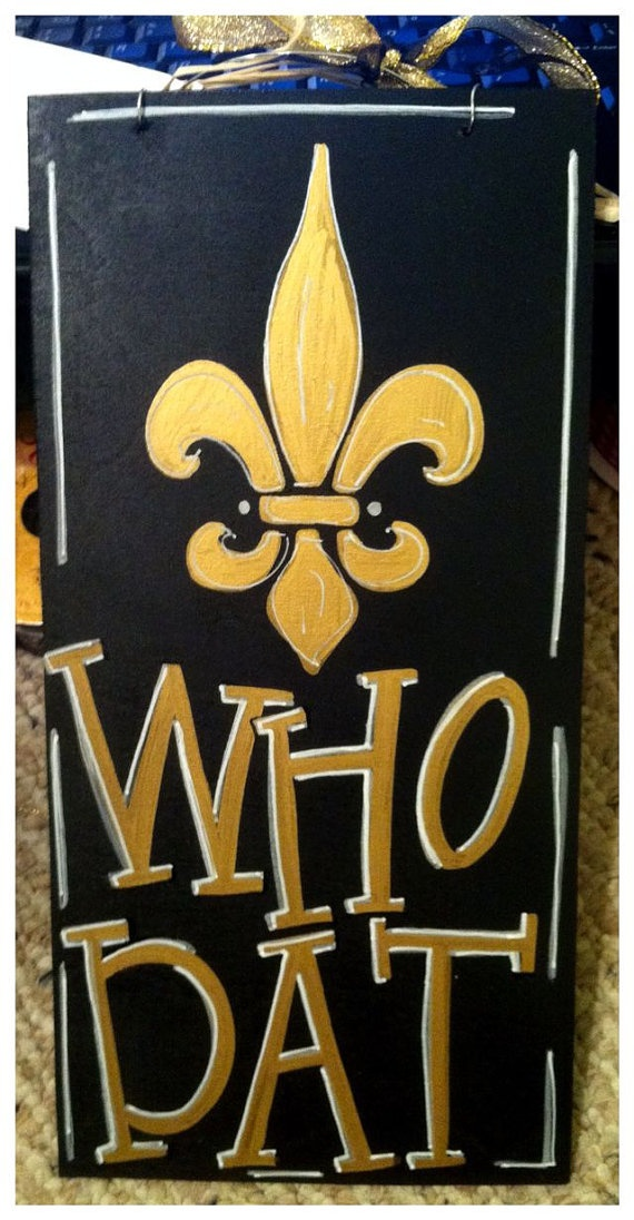 Who Dat Nation#Repin By:Pinterest++ for iPad#