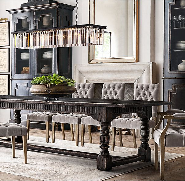 Rectangular Chandelier Dining Room: 1000+ Ideas About Rectangular Chandelier On Pinterest