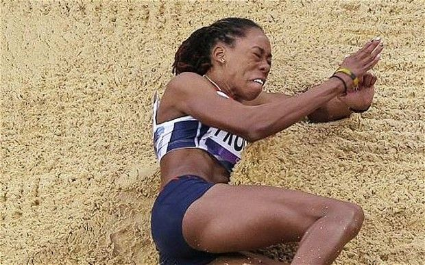 2012 Shara Proctor: London 2012 Olympics: Great Britain's Shara Proctor qualifies for long jump final in fine style.