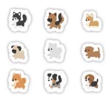 Chibi Puppers Sticker