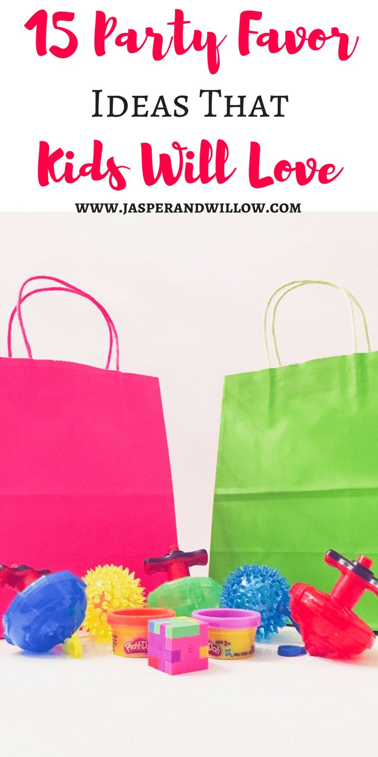15 Party Favor Ideas That Kids Will Love. Kids Party Favors | Child Party Favors | Toddler Party Favors | Birthday Party | Kids Birthday Party | Toddler Birthday Party | Child Birthday Party | Grab Bag | Goodie Bag | Goody Bag | Loot Bag | Party Favor Bag #kidspartyfavors #childpartyfavors #kidsbirthdayparty #birthdayparty #grabbag #goodiebag #goodybag #lootbag #partyfavorbag