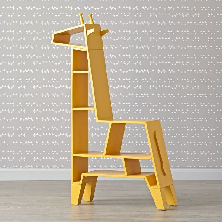 Shop Giraffe Bookcase. We don't think it's a stretch to say our giraffe-shaped bookcase will make a welcome addition to any nursery or play space.
