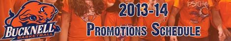 2013-14 Women's Basketball Promotions Schedule