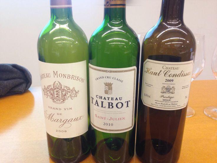 Bordeaux-trio