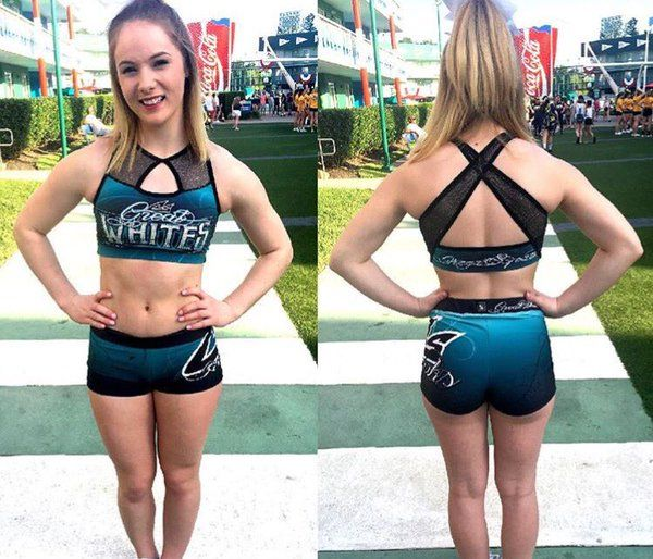 Great Whites practice wear featuring dani williams