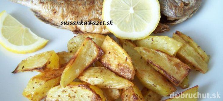 Pečená pražma s opekanými zemiakmi