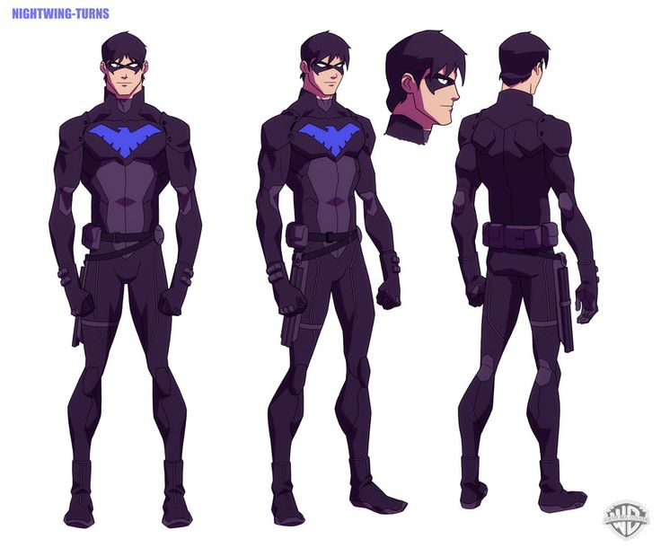 night wing drawings from yung justes | YOUNG JUSTICE: Nightwing by philbourassa
