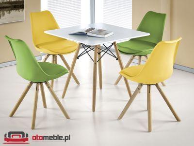 Biały designerski stół - H070