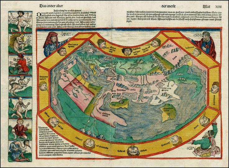 The 25 best world map maker ideas on pinterest fantasy map das ander alter der werlt map of the world map maker hartmann schedel gumiabroncs Gallery